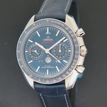 Omega Speedmaster Professional Moonwatch Moonphase Steel 44.2mm Blue