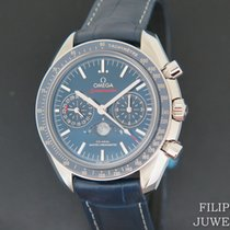 Omega Speedmaster Professional Moonwatch Moonphase Staal 44.2mm Blauw Nederland, Maastricht