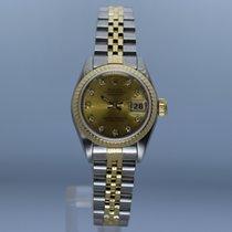 Rolex Lady-Datejust Acero 26mm Champán Sin cifras