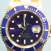 Rolex 16618 Or jaune 1994 Submariner Date 40mm occasion