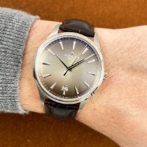 Zenith Captain Central Second Acier 40mm Gris