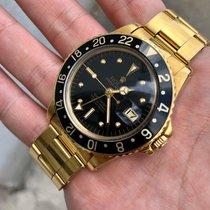 勞力士 GMT-Master 黃金 40mm 黑色 無數字 香港, 0000000000000