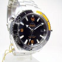 Omega Seamaster Planet Ocean Stahl 43.5mm Schwarz Arabisch Deutschland, Weißenhorn