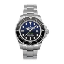 勞力士 Sea-Dweller Deepsea 126660 非常好 鋼 44mm 自動發條