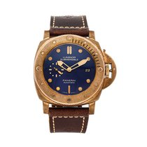 Panerai Special Editions Bronze 47mm Blue No numerals United States of America, Pennsylvania, Bala Cynwyd