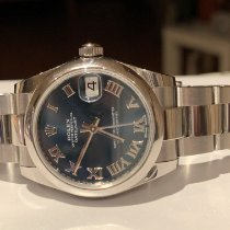 Rolex Lady-Datejust Acier 31mm Bleu France, Mennecy