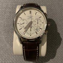 Longines Column-Wheel Chronograph Acier 40mm Argent