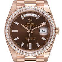 Rolex Day-Date 40 228345RBR New Rose gold 40mm Automatic United Kingdom, London