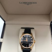 Longines Conquest Heritage Or rose Noir