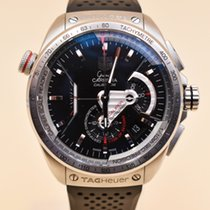 TAG Heuer Grand Carrera Steel 43mm Black No numerals United States of America, Texas, Houston