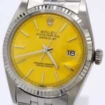 Rolex Datejust Stål 36mm Gul