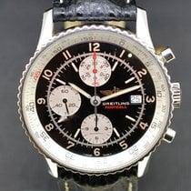Breitling Old Navitimer Steel 41mm Black No numerals