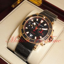Ulysse Nardin Maxi Marine Diver new Automatic Chronograph Watch with original box and original papers 8006-102-3c/926