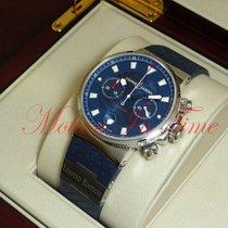 Ulysse Nardin Blue Seal Steel 41mm Blue No numerals United States of America, New York, New York
