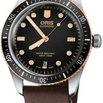 Oris Divers Sixty Five No numerals United States of America, New York, Brooklyn