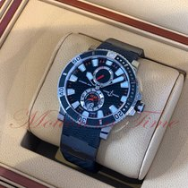 Ulysse Nardin Maxi Marine Diver Titanium 45mm Black No numerals United States of America, New York, New York