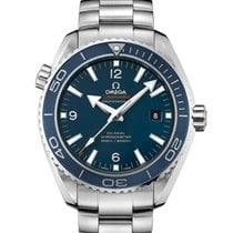 Omega Seamaster Planet Ocean Titanium 45.5mm Blue Arabic numerals United States of America, New York, New York