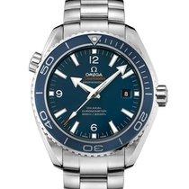 Omega Titanium Automatic Blue Arabic numerals 45.5mm new Seamaster Planet Ocean