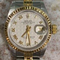 Rolex Lady-Datejust Gold/Stahl 26mm Champagnerfarben Römisch