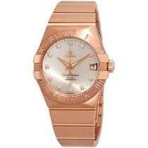 Omega Constellation Men Red gold 38mm Silver United States of America, New York, New York