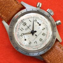 Gallet Steel Manual winding Flying Officer pre-owned United States of America, Virginia, Sterling
