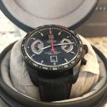 TAG Heuer Grand Carrera Titanium 43mm Black No numerals United States of America, Texas, Mission