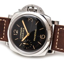 Panerai Luminor Marina 1950 3 Days Acier 47mm Noir Arabes France, Paris