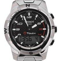 Tissot T-Touch II neu 2020 Quarz Uhr mit Original-Box und Original-Papieren T047.420.44.207.00