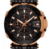 Tissot T-Race neu 2020 Automatik Chronograph Uhr mit Original-Box und Original-Papieren T115.427.37.051.01
