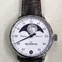 Meistersinger Lunascope LS901 New Steel 40mm Automatic United States of America, Massachusetts, Boston