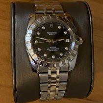 Tudor Classic Steel 38mm Black No numerals United States of America, Iowa, Burlington