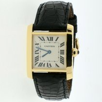 Cartier Tank Française Yellow gold 25mm Roman numerals United States of America, New York, New York