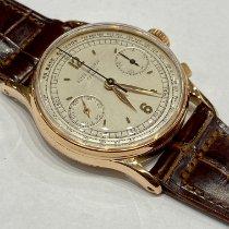 Patek Philippe Chronograph Roségold 33mm Silber