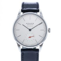 NOMOS Orion Neomatik pre-owned 36mm White Leather