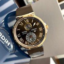 Ulysse Nardin Marine Chronometer 43mm Золото/Cталь 43mm Коричневый Россия, Санкт-Петербург