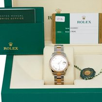 Rolex Lady-Datejust pre-owned 31mm Pink Date Gold/Steel