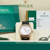 Rolex 118135 Rose gold 2018 Day-Date 36 36mm pre-owned United States of America, California, Los Angeles