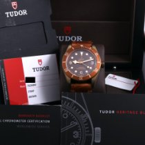 Tudor Black Bay Bronze Bronze 43mm Brown Arabic numerals United States of America, California, Beverly Hills