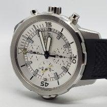 IWC Aquatimer Chronograph Steel 44mm Silver Arabic numerals United States of America, New York, Woodbury