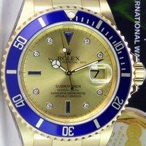 Rolex Submariner Date подержанные 40mm Цвета шампань Дата Жёлтое золото