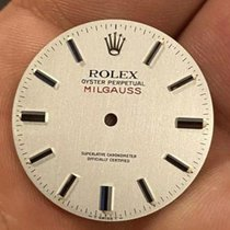 Rolex Milgauss Сталь 38mm Cеребро Без цифр