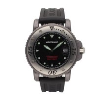 Montblanc Tantalum Automatic Black 44mm pre-owned