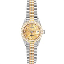 Rolex Lady-Datejust Ouro branco 26mm Bronze