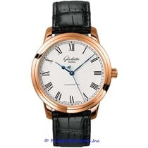 Glashütte Original Senator Automatic Rose gold 40mm Silver Roman numerals United States of America, California, Newport Beach