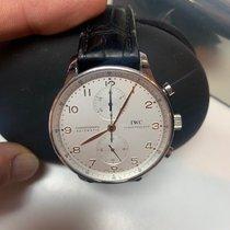 IWC Portuguese Chronograph Acier Argent Belgique, ANTWERP