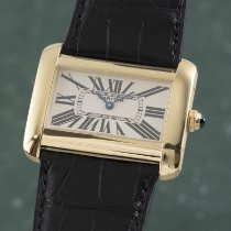 Cartier 2602 Yellow gold 2005 Tank Divan 24mm pre-owned