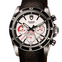 Tudor Grantour Chrono Steel 42mm White No numerals