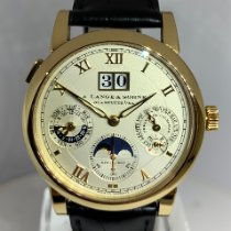 A. Lange & Söhne Langematik Perpetual 310.032 Unworn Yellow gold 38.5mm Automatic