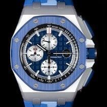 Audemars Piguet Royal Oak Offshore Chronograph nouveau 2020 Remontage automatique Chronographe Montre avec coffret d'origine et papiers d'origine Audemars Piguet Royal Oak Offshore Chronograph 26400SO.OO.A335CA.01