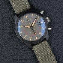 IWC Pilot Chronograph Top Gun Miramar IW388002 Odlično Keramika 46mm Automatika